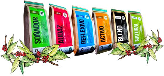 5 presentaciones de mejor cafe tarapoto quilpa tostaduria